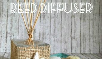 Diffusore per ambienti in stile Coastal DIY - DIY Coastal Reed Diffuser