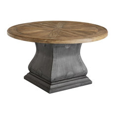 A.R.T. Home Furnishings Arch Salvage Outdoor Lyon Round Dining Table