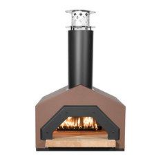 Americano Countertop Wood Burning Pizza Oven, Neopolitan-Inspired, Terra Cotta