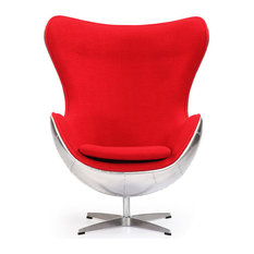 Kardiel - Kardiel Steampunk 1958 Chair, Cherry, Material: Cashmere - Armchairs and Accent Chairs