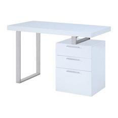 JNM Furniture - Vienna Office Desk in Modern Style - Desks and Hutches