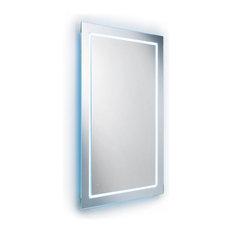 shop backlit ikea bathroom mirror on houzz, Bathroom decor