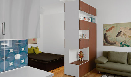 Houzzbesuch: Ein flexibles Einzimmerapartment in Berlin