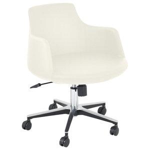 Groovy Swivel Chair Brooks Navy Blue Velvet Transitional Pabps2019 Chair Design Images Pabps2019Com