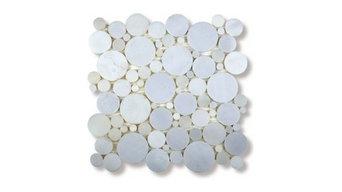 White Carrara Marble Mosaic