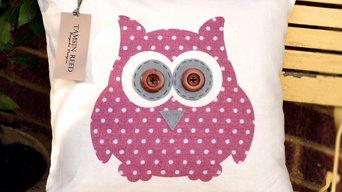 Owls of Hoot- Pink Polka Dot