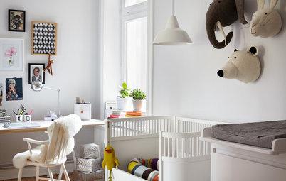 Barn behöver också design! Inred de minstas rum med möbelklassiker