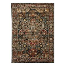 "Karastan Spice Market 90807-50130 2'4""x7'10"" Saphire Rug"
