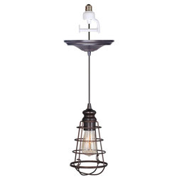 Industrial Pendant Lighting by Worth Home Products