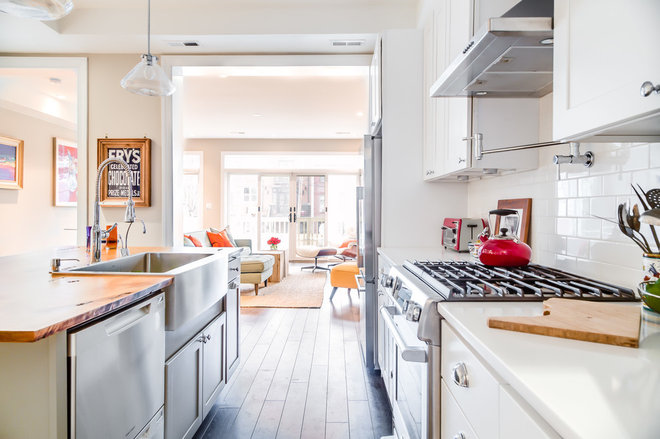 Eclectic Kitchen by Kerra Michele Interiors
