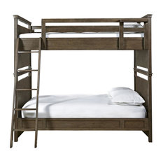 School Days Bunk Bed, Full Over Full, Bunk Bed Only