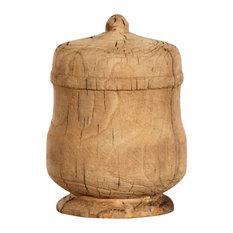 Ergo Wooden Decorative Urn