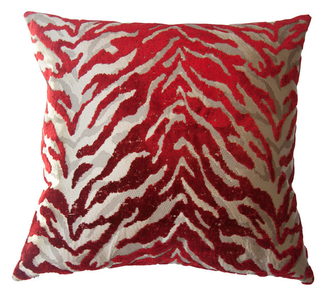 Bella Exotic Pillow Houzz Exclusive Contemporary Decorative Extraordinary Houzz Decorative Pillows