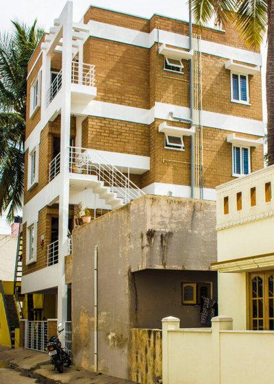 インド 家の外観 by Building Resource Hub