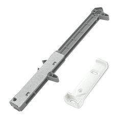 Rok Hardware Soft Close Cabinet Drawer Damper Adapter Wood Drawers White, 10 Pac