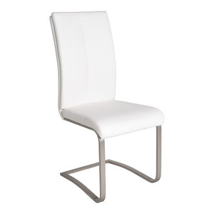 Slice Dining Chair, White