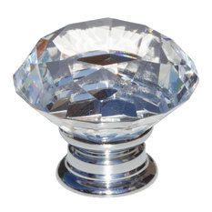 gliderite hardware clear crystal diamond cabinet knob cabinet and drawer knobs