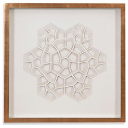 Contemporary Wall Accents by BASSETT MIRROR CO.