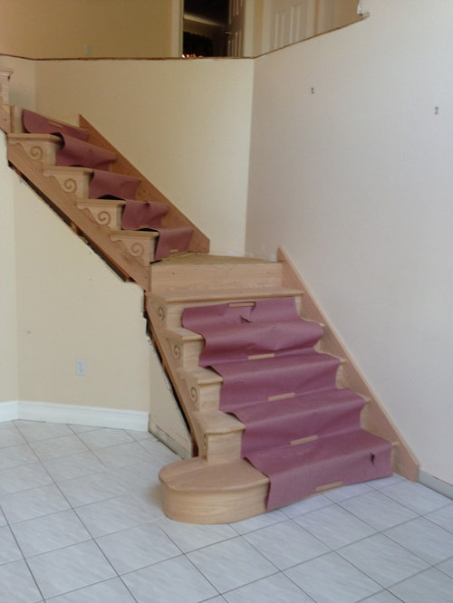 I Need Help To Chose The Right Wood Stain For My Stairs
