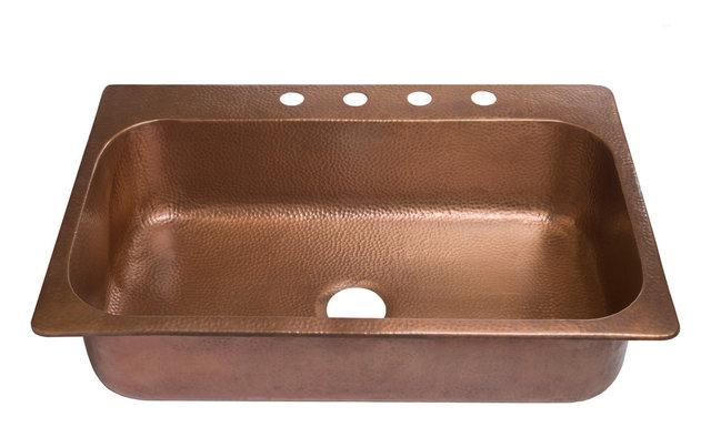 Angelico Drop-In Handmade Copper 33\