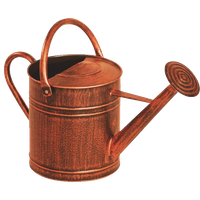 Panacea Copper Watering Can, 2 gl.
