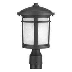 Progress Lighting P6424-3130K9 Wish LED Black Outdoor Post Light