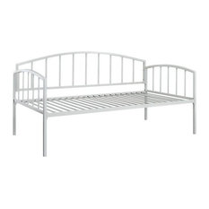 DHP Ava Metal Daybed, White