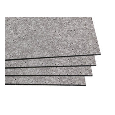 """CeraZorb Insulating Synthetic Cork Underlayment (2"""" x 2"""") - 12 Sheets / 48 sq.f"""