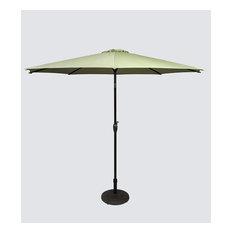 9' Outdoor Tilting Patio Umbrella with Crank Open - Lime