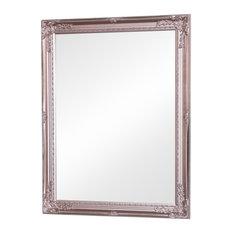 Ornate Rose Gold Pink Mirror 62cm x 82cm