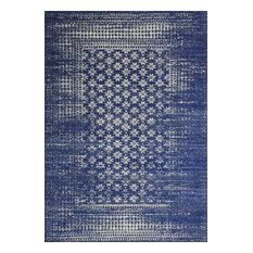 "Bashian - Bashian Audrey Dark Blue Area Rug, 5'x7'6"" - Area Rugs"