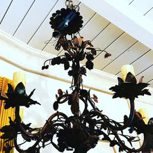 Antique Lighting Fixture designed in French detail