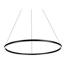 "VONN VMC34911 Tania Single Light 39"" Wide LED Ring Chandelier"