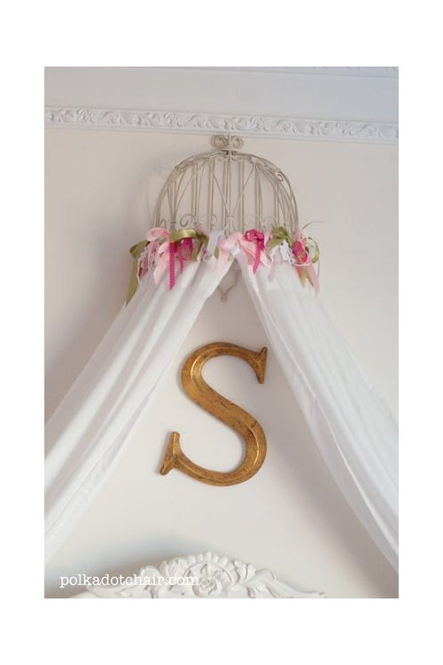 Has Anyone Made A Crib Canopy Any Ideas What Type Of Tulle Curtains Or Fabric To Use Suggestions I D Love Make One For My Daughter S Thanks
