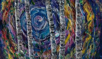 Moonlight Sonata - 2 (Palette Knife) - original oil painting