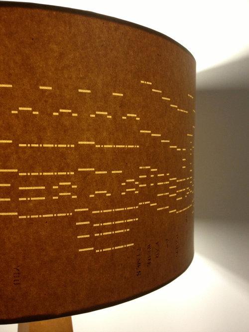 Vintage Music Light Shades - Lamp Shades