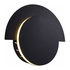 "Talitha 10"" Integrated LED Wall Sconce, Black"