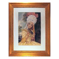 Vivian Rydgren, Portrait of a Woman, Color pencil and Pastel Drawing