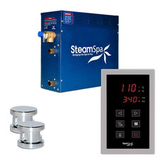 SteamSpa OAT1200CH Oasis 12 KW QuickStart Acu-Steam Bath Generator Package in...