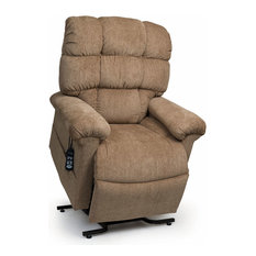 UC556 Tall Zero Gravity Lift Chair w Comfort Coils - Wicker