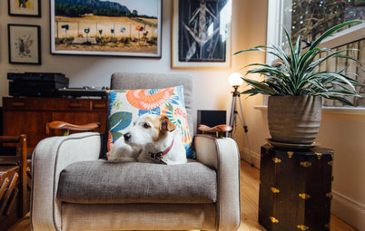 My Houzz: A Creative Collector's Home Bursting With Personality
