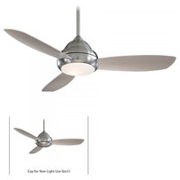 Minka-Aire Concept Ceiling Fan, Brushed Nickel
