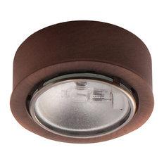 Round Xenon Button Light, Copper Bronze