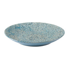 Zuo Decor Ceramic Plate, Blue