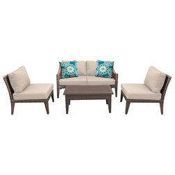 Nice Tropical Outdoor Lounge Sets by TKClassics
