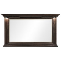 American Heritage Riviera Collection Mirror with Glass Holders, Navajo