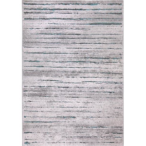 Woodland WH-2870-953 Rug, Grey and Blue, 160x225 Cm