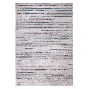 Woodland WH-2870-953 Rug, Grey and Blue, 80x150 Cm