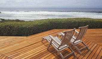 Deck near the beach