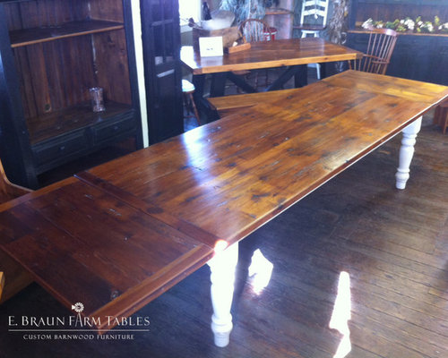large tables extra long tables reclaimed barn wood. Black Bedroom Furniture Sets. Home Design Ideas